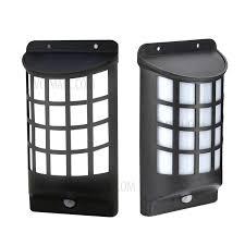 yy 106 solar energy light sensor and pir sensor light outdoor wall