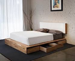 Make Queen Platform Bed Frame by Best 25 High Platform Bed Ideas On Pinterest High Bed Frame