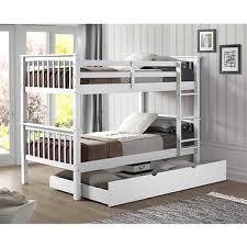 Berkley Jensen Twin Size Bunk Bed with Trundle BJ s Wholesale Club