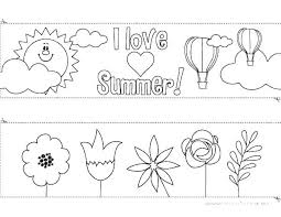 Printable Summer Coloring Pages For Kids Idea And