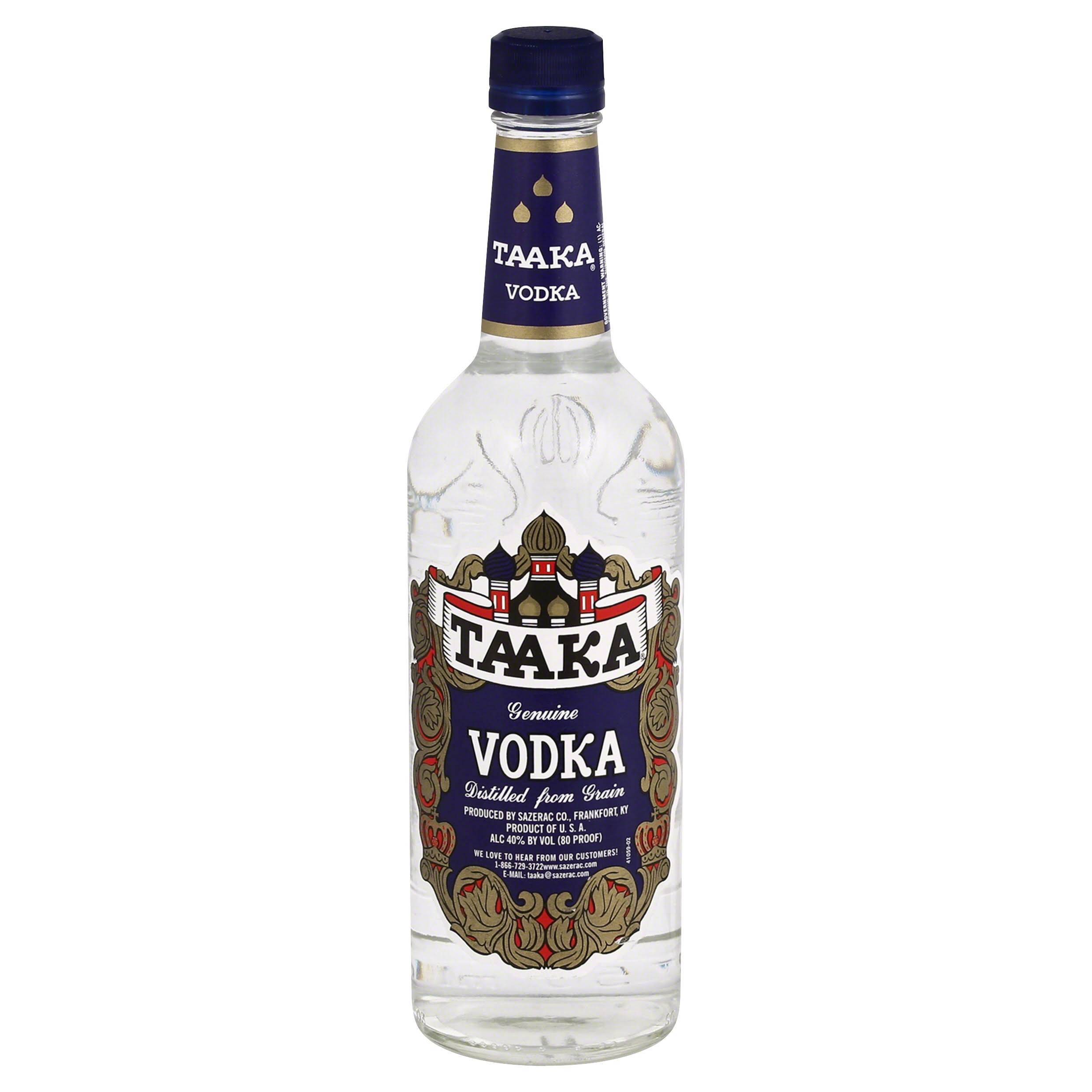 Sazerac Taaka Vodka - 750 ml bottle