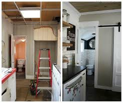 Small Bathroom Pictures Before And After by Small Bathroom Makeover Christinas Adventures