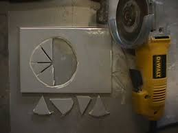Drilling Through Porcelain Tile And Concrete by Cutting Holes In Tile Terry Love Plumbing U0026 Remodel Diy