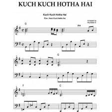 kuch kuch hota hai piano notes singllets
