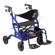 Transport Chair Walmart Canada by Fusion Rollator Standard Sku 775757009353