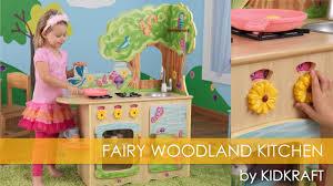 Kidkraft Grand Gourmet Corner Kitchen Play Set by Children U0027s Fairy Woodland Kitchen Toy Review Youtube