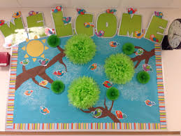 Cubicle Decoration Themes Green by Best 25 Bird Bulletin Boards Ideas On Pinterest Paper Birds
