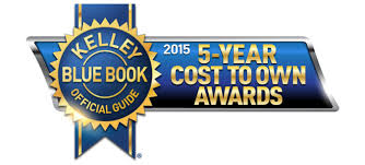 2015 5-Year Cost To Own Award Winners Announced By Kelley Blue Book