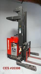 100 Raymond Reach Truck CES 20398 020iR40TT Forklift 241