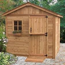 Can Shed Cedar Rapids Hours by Amazon Com Wood Outdoor Storage Shed Great Little Shed To
