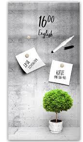 memoboard pinnwand magnettafel magnetwand küche flur design