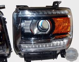2014 2015 gmc denali complete hid projector headlight