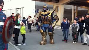 Thanos Cosplay At Romics 2016 YouTube