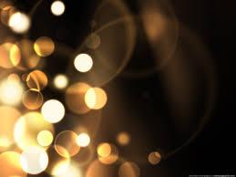 Green Sparkles Blurry sparkles background
