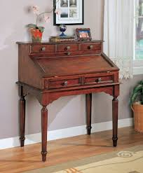 Small Secretary Desk With File Drawer by Amazon Com Coaster Beautiful Wood Secretary Office Desk Table