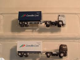 98 N Scale Trucks 2 X Container Tomytec Trade Me