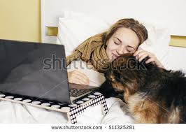teen bed eating chocolate stock photo 485354665 shutterstock