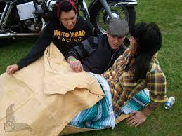 Cowboy Bed Roll by Don Wood Gypsy Biker Bedrolls Bikermetric