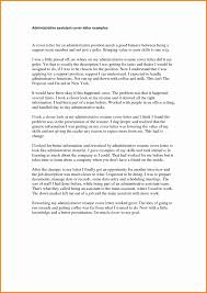 Resume Cover Letter Administrative Assistant Examples Best For Refrence