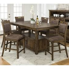 Waltham Cannon Valley 7 Piece Counter Height Dining Set