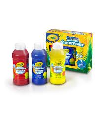 Crayola Bathtub Fingerpaint Soap Set by Crayola Washable Finger Paint 8oz 3 Pkg Primary Colors Joann