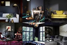 ein elegantes wohnzimmer in dunklen farbtönen nettetipps de
