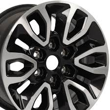 100 Ford Truck Rims OEM 17x85 F150 Raptor Blk Machd 3891 Navigator Expedition OEW