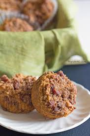 Bisquick Pumpkin Chocolate Chip Muffins by Pumpkin Muffins With Bacon Streusel Its Yummi