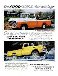 1957 Ford Truck F Series Pick Up Ad Https://plus.google/+ Inside ...