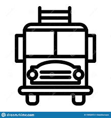 Fire Engine Line Icon. Fire Car With Ladder Vector Illustration ... Firetruck Clipart Free Download Clip Art Carwad Net Free Animated Fire Truck Outline On Red Neon Drawing Stock Illustration 146171330 Engine Thin Line Icon Vector Royalty Coloring Page And Glyph Car With Ladder Fireman Flame Departmentset Colouring Pages Trucks Printable Lineart Of A Cartoon Black And White With Linear Style Sign For Mobile Concept Truck Icon Outline Style Image Set Collection Icons