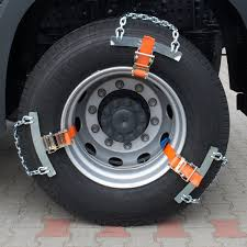 Snow Chains Truck Snow Chain Super Sector Lorry Coach Tire Truck ...