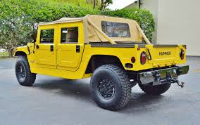 100 Hummer H1 Truck 1997 44 Pickup Real Muscle Exotic Classic Cars For Sale