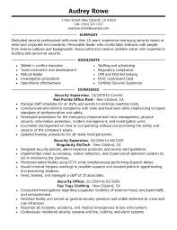 Restaurant Supervisor Job Description Resume