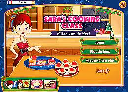 jeu ecole de cuisine de pâtisseries de noël école de cuisine de un des jeux en