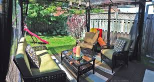 Home Depot Patio Furniture Canada by Small Patio Space Hdoutdoor Oasis With The Home Depot