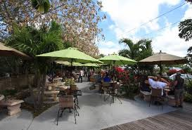 Havana Cafe Of The Everglades Outside Seating
