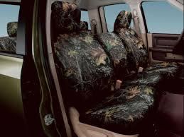 100 Dodge Truck Seat Covers 20112015 Ram 1500 Rear Mossy Oak LeePartscom