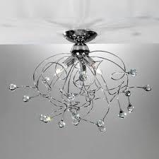 kristall deckenleuchten kristall len lenwelt at