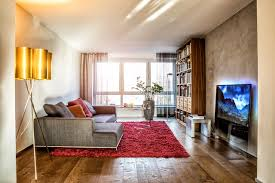minimalistisches gemütliches wohnzimmer modern