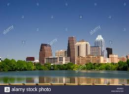 100 Austin City View Scape Skyline View Of Texas With Lake In The Stock