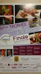 tecomah cuisine anpcr trophée 2015 au lycée hôtelier de tecomah à jouy en josas