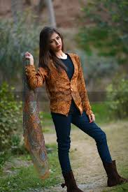Cazibe Pret Winter Dresses 2014 For Girls0