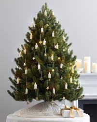6ft Slim Christmas Tree by Miracle Flame Christmas Tree Led Candles Balsam Hill