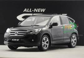 DEALER EDITION 1 18 HONDA CR V CRV BLACK DIECAST CAR MODEL