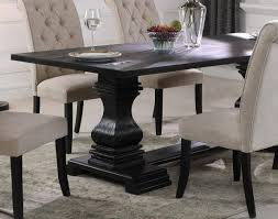 McFerran D7700 Black Double Pedestal Table & Linen Fabric ... Iris Dark Brown Round Glass Top Pedestal 5 Piece Ding Table Set Nice 48 Inch 9 Relaxbeautyspacom Wood Kitchen Small And Chairs Shop Wilmington Ii 60 Rectangular Antique Sage Green White Others Bright Modern Vancouver Oval Double In Oak 40x76 Copine Cheap Find Diy Plans Pdf Download Odworking Braxton Culler Room Fairwinds Roundoval