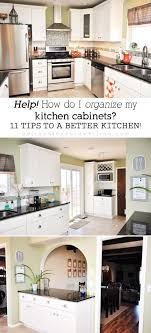 Kitchen Remodel 11 Tips For Organizing Your Kitchen Cabinets In