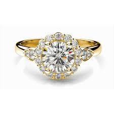 Trellis Diamond Engagement Ring