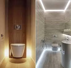 bad modern gestalten mit licht kleine badezimmer