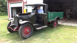 1929 International Truck - First Startup In 2 Years - YouTube