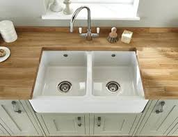 how to clean ceramic kitchen sink how to clean a ceramic sink